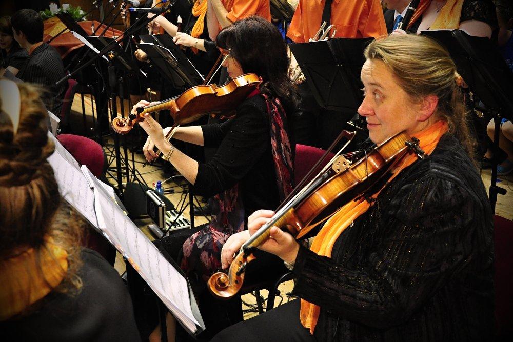 Vánoční koncert v České Lípě 2011